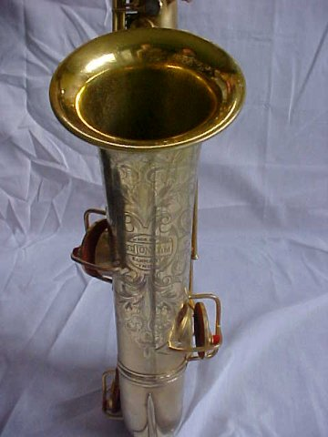 Gold C-Melody Sax